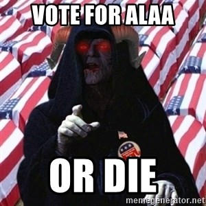 Evil Republican - Vote for alaa or die