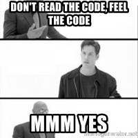 Terras Matrix - Don't read the code, feel the code mmm yes