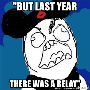 """runDisney Rage - """"but last year there was a relay"""""""