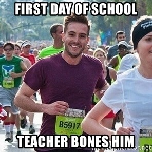 Ridiculously photogenic guy (Zeddie) - first day of school teacher bones him