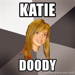 Musically Oblivious 8th Grader - katie doody