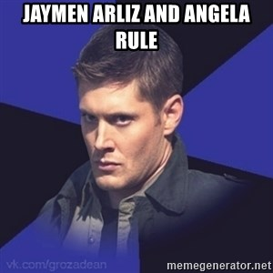 Грозный Dean Winchester - jaymen arliz and angela rule