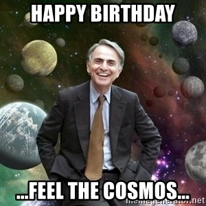 Carl Sagan - happy birthday ...feel the cosmos...