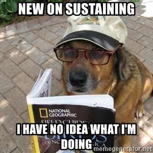 Dog Studying - New on sustaining i have no idea what i'm doing