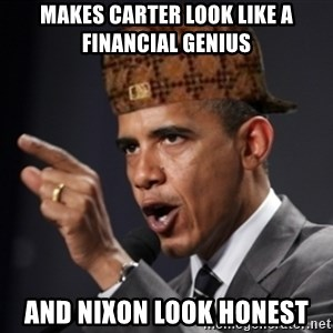 Scumbag Obama Claus - Makes carter look like a financial genius and nixon look honest