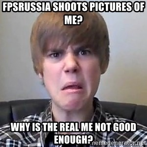 Justin Bieber 213 - fpsrussia shoots pictures of me? why is the real me not good enough?