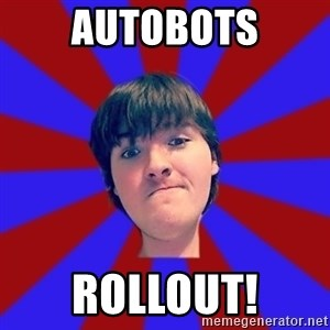 Rider Nelson - autobots rollout!