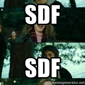 Harry Hermione Scare Tactic - sdf sdf