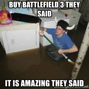 laundry room viking 2012 - buy battlefield 3 they said it is AMAZING they said