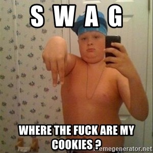 Swagmaster - s  w  a  g where the fuck are my cookies ?
