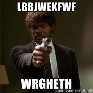Jules Pulp Fiction - lbbjwekfwf wRGHETH