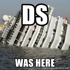 Sunk Cruise Ship - ds was here