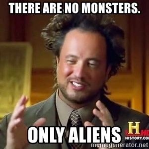 Giorgio A Tsoukalos Hair - There are no monsters. only aliens