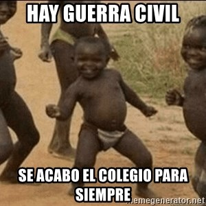 Third World Success - hay guerra civil se acabo el colegio para siempre