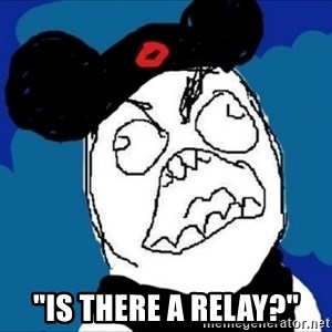 """runDisney Rage - """"is there a relay?"""""""