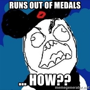 runDisney Rage - runs out of medals ... how??