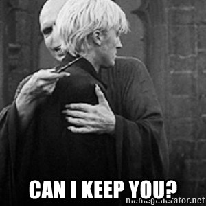 draco hugs voldemort - can i keep you?