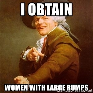 Joseph Ducreux - i obtain women with large rumps