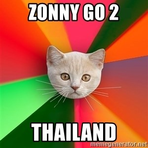 Advice Cat - Zonny go 2 thailand
