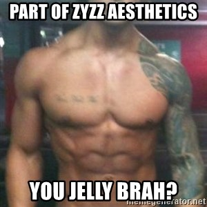 Zyzz - Part Of zyzz Aesthetics You jelly brah?