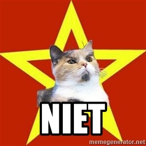 Lenin Cat Red - niet