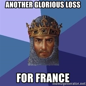 Age Of Empires - Another glorious loss for france