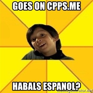 es bakans - goes on cpps.me habals espanol?