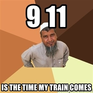 Ordinary Muslim Man - 9 11 is the time my train comes