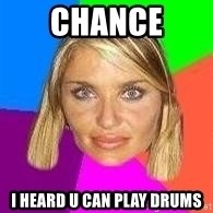 Kenitalarra - chance i heard u can play drums