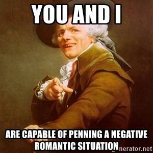 Joseph Ducreux - You And I Are capable of penning a negative romantic situation