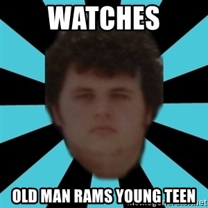 dudemac - watches old man rams young teen