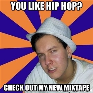 Johnny the Badass - You Like hip hop? check out my new mixtape