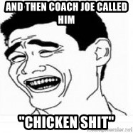 "Yao Ming 5 - and then Coach Joe called him ""Chicken shit"""