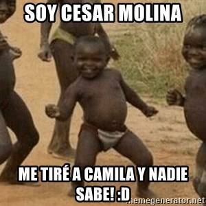 Success African Kid - SOY CESAR MOLINA ME TIRÉ A CAMILA Y NADIE SABE! :d