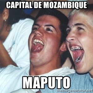 Immature high schoolers - Capital de mozambique maputo