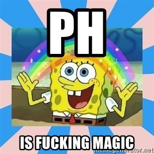 Spongebob Imagination - pH is fucking magic