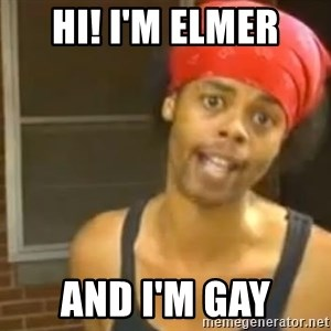 Antoine Dodson - hi! i'm elmer and i'm gay