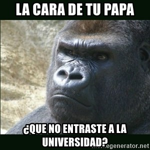 Rustled Jimmies - la cara de tu papa ¿que no entraste a la universidad?