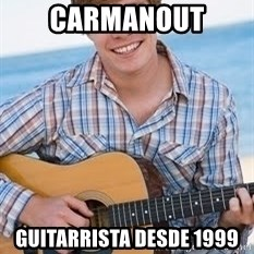 Guitar douchebag - CARMANOUT GUITARRISTA DESDE 1999