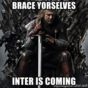 Eddard Stark - BRACE YORSELVES inter is coming