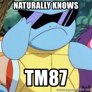 Oh Hell Naw Squirtle - Naturally knows TM87
