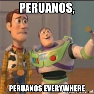 Buzz - peruanos, peruanos everywhere