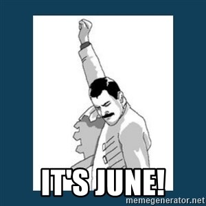 Freddy Mercury - IT'S JUNE!