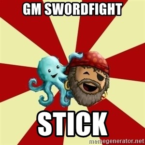 Puzzle Pirate - GM SwordFight Stick