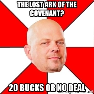 Pawn Stars - The lost ark of the covenant? 20 bucks or no deal