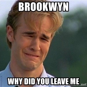 Crying Man - brookwyn why did you leave me