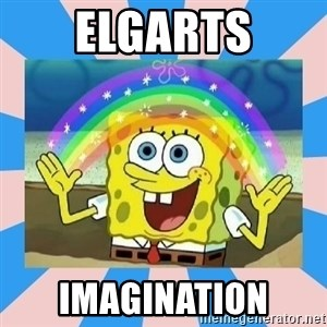 Spongebob Imagination - elgarts imagination