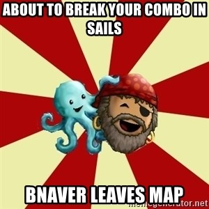 Puzzle Pirate - about to break your combo in sails bnaver leaves map