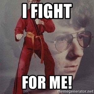 Karate Kyle - I fight for me!
