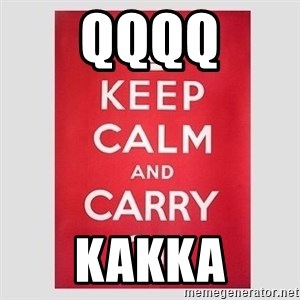 Keep Calm - qqqq kakka